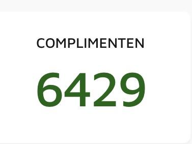 Feedbackradar complimenten