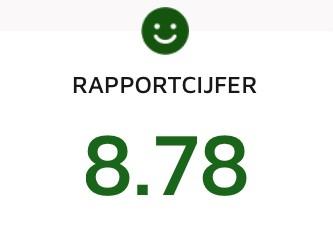 Feedbackradar-Rapportcijfer