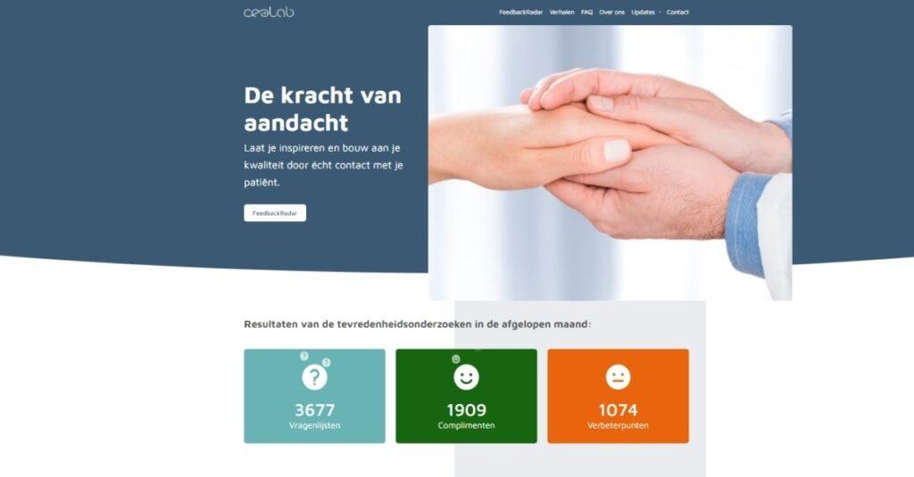 Nieuwe website CEO Lab